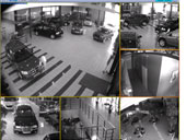 Panavto-Yug Motor Showroom: Video7 Video Surveillance System Installed by Systemy Sviazi Company from Rostov-on-Don